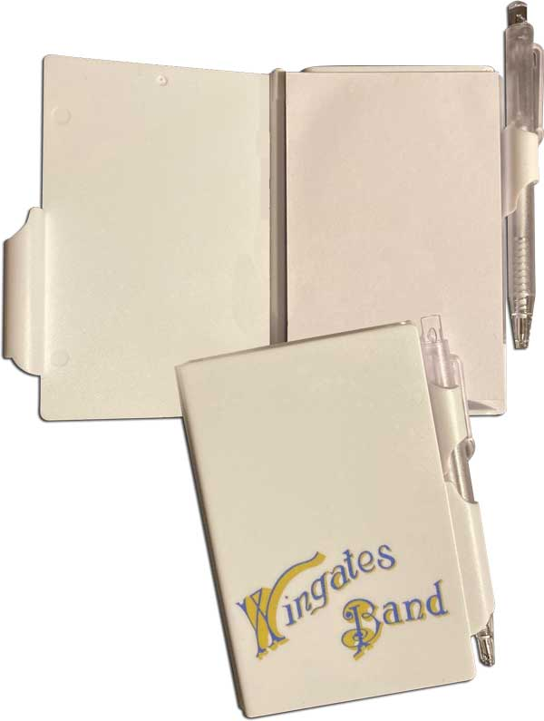 Wingates Branded Notebook and Pen